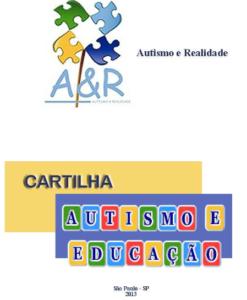 cartilha autismo e educacao