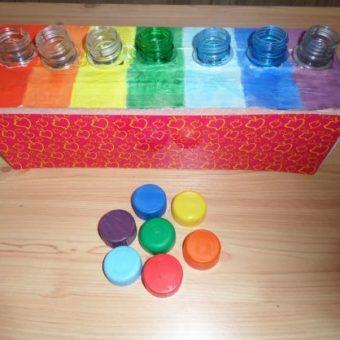 ensinar cores para alunos com deficiência intelectual