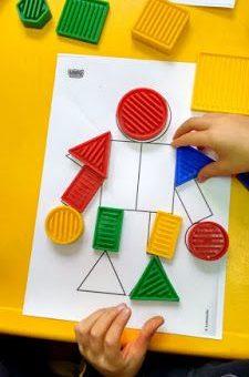 formas geométricas para alunos com deficiência intelectual